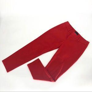 Cynthia Rowley red skinny pants 2